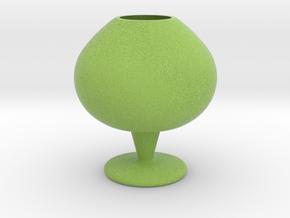 IkebanaVase-11 in Full Color Sandstone