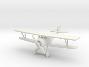 Nieuport 17 1:144th Scale in White Natural Versatile Plastic