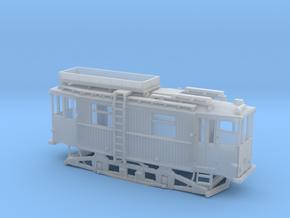 Tram Leipzig ATW 5060 Turmwagen (1:160) N in Smooth Fine Detail Plastic
