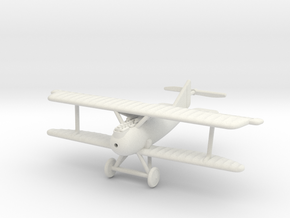 1/144 Rumpler D.I in White Natural Versatile Plastic