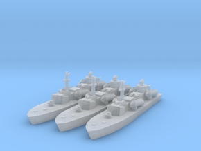 1/1250 Soviet OSA-2 Missile boat in Smooth Fine Detail Plastic