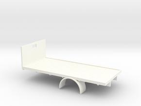 1:43 Bedford  Flatbed Body in White Processed Versatile Plastic