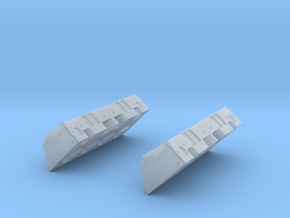 1/12 Small Block Chevy High Detail Heads in Smooth Fine Detail Plastic
