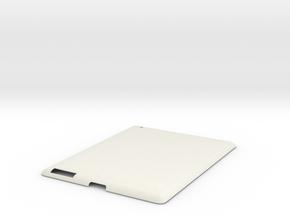 iPad 2 Case in White Natural Versatile Plastic