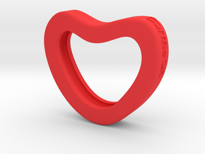 Cuore Carmelari in Red Strong & Flexible Polished