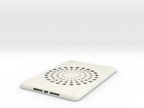 iPad mini FLWR Case in White Natural Versatile Plastic