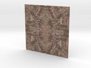 Mosaic BrownTexture in Full Color Sandstone