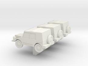 N Scale DKW Munga in White Natural Versatile Plastic