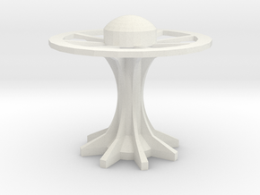 disk arcology or space station4 in White Strong & Flexible