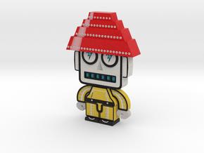 DevoBot series 1 yellow bio suit Josh in Full Color Sandstone