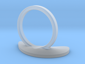 Ameba Ring D16.5 in Smooth Fine Detail Plastic