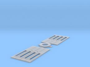 Eit päätyovi kapea in Smooth Fine Detail Plastic