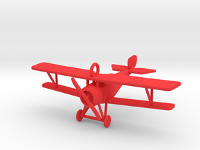 Xmas Nieuport in Red Processed Versatile Plastic