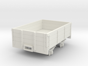 5.5n3 8ft 3 plank dropside wagon in White Natural Versatile Plastic