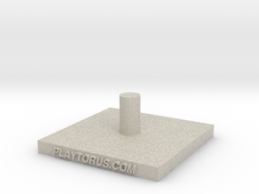 Torus Base Hook in Natural Sandstone