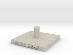 Torus Base Hook in Sandstone
