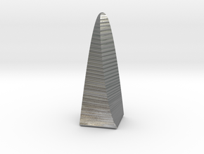 Obelisk in Raw Silver
