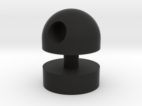 Classic Knob in Black Natural Versatile Plastic
