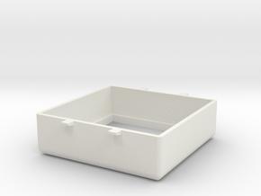 TIMESQUARE Bezel in White Natural Versatile Plastic