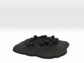 Skullpile in Black Strong & Flexible