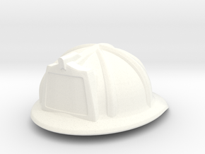 American Fire Helmet (tbn) in White Strong & Flexible Polished