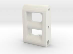 BP8_OS & V2 frame spacer in White Natural Versatile Plastic