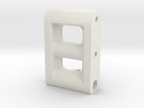 BP8_OS & V2 frame spacer in White Natural Versatile Plastic