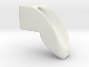 smooth dogleg in White Natural Versatile Plastic