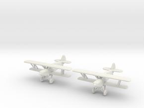 1/200 Avia B-534 (x2) in White Natural Versatile Plastic