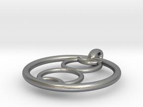 Kalyke pendant in Natural Silver