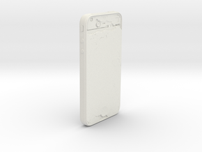 iPhone 4 in White Natural Versatile Plastic