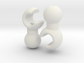 Petit Hand Set for ModiBot  in White Natural Versatile Plastic