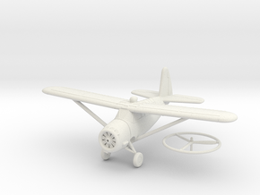 1/144 Curtiss O-52 Owl in White Natural Versatile Plastic