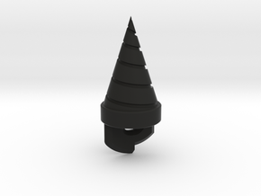 "2.3"" Gurren Lagann Core Drill (cH-SWCD) in Black Strong & Flexible"