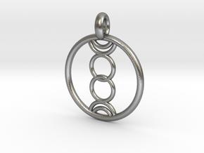 Eukelade pendant in Natural Silver
