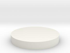 conical horn cap in White Natural Versatile Plastic