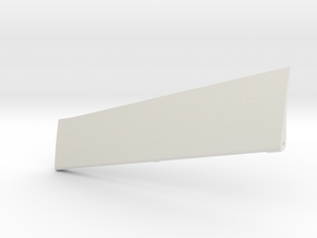 Wind Skimmer - Right Aileron in White Natural Versatile Plastic