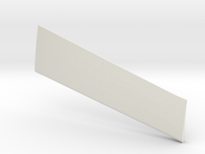 Wind Skimmer - Left Aileron in White Natural Versatile Plastic