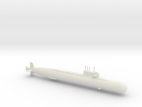 1/700 Arihant Class Submarine in White Natural Versatile Plastic