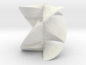 revo1 in White Natural Versatile Plastic