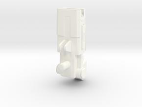 FOC Impactor Shoulder Cannon in White Processed Versatile Plastic