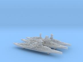 1/3000 WW2 Queen Elizabeth class BBs (3 of 5) in Smooth Fine Detail Plastic