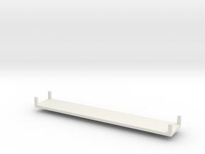 Camera Car 2 - Z Scale in White Natural Versatile Plastic