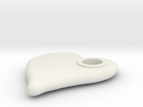 Merged Skin Cylinder3D2 in White Natural Versatile Plastic