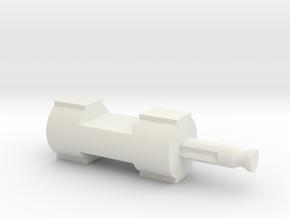 Lincoln Logs to K'Nex uck 06f03m in White Natural Versatile Plastic