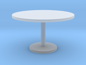 1:10 Scale Model - Table 03 in Smooth Fine Detail Plastic