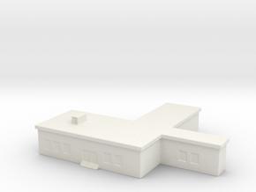 1/700 Command Building in White Natural Versatile Plastic
