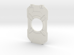 Halo 4 Cortana Chip in White Natural Versatile Plastic