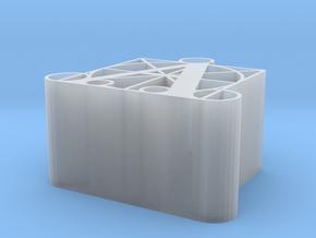 A - PENCIL HOLDER - DURER ALPHABET in Smooth Fine Detail Plastic