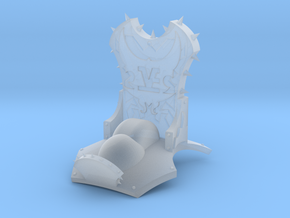 Monster Throne in Smooth Fine Detail Plastic
